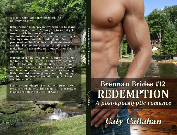 Brennan Brides 8 Redemption by Caty Callahan | Sweet romances with action and adventure