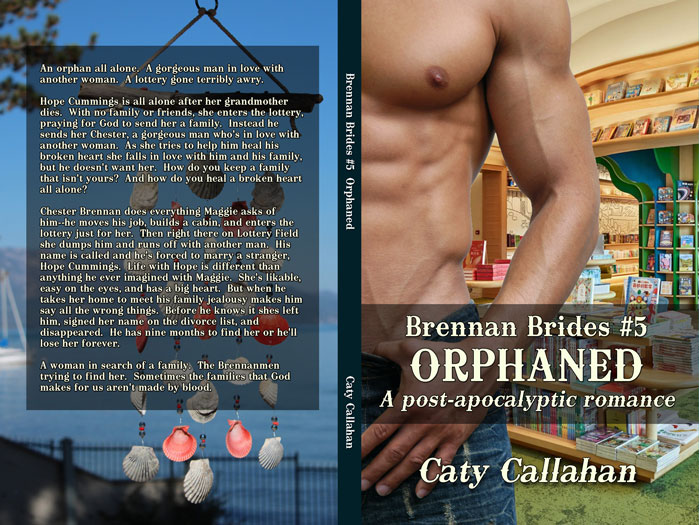 Brennan Brides 5 Orphaned by Caty Callahan | Sweet romances with action and adventure