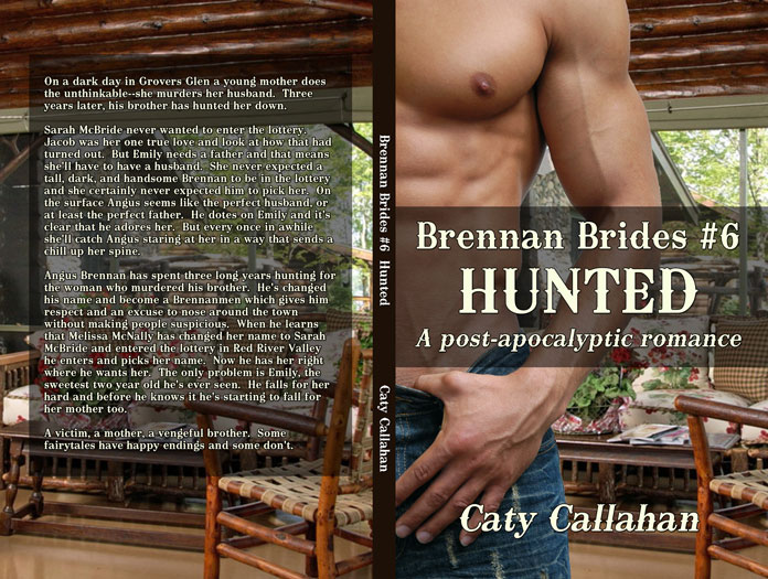 Brennan Brides 6 Hunted by Caty Callahan | Sweet romances with action and adventure